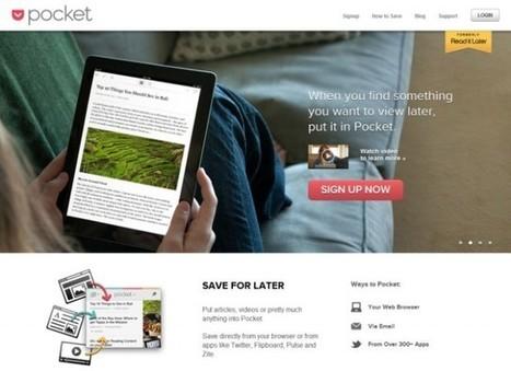 Pocket peut maintenant lire les articles sauvegardés | François MAGNAN  Formateur Consultant | Scoop.it