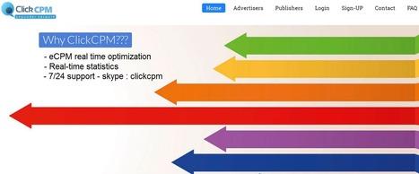 ClickCPM review : Pop-under advertising network | wordpress | Scoop.it