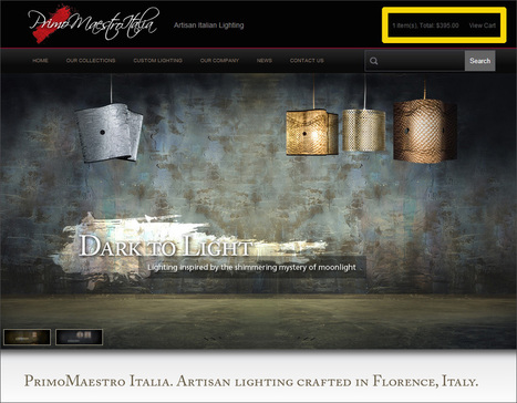 Shedding Some Light on Primo Maestro Italia's Site | Digital-News on Scoop.it today | Scoop.it