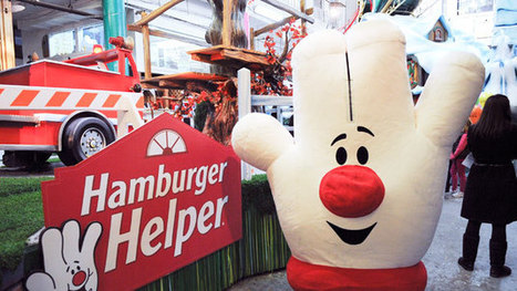 In Redesign, Hamburger Helper Drops the Hamburger | Troy West's Radio Show Prep | Scoop.it
