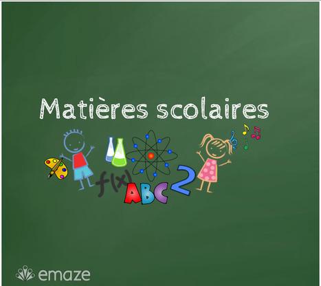 Matières scolaires | FLE (ressources) | Scoop.it