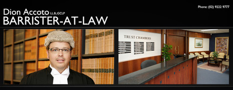 Traffic Lawyers, Criminal Law Barrister, Not Guilty Criminal Defence Lawyers in Sydney   Austrian Property   Scoop.it