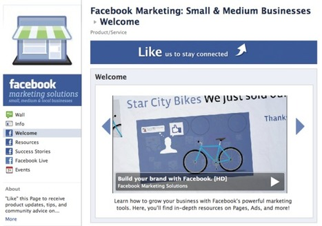 Facebook's Business Playbook: 4 Educational Portals | Business Wales - Socially Speaking | Scoop.it