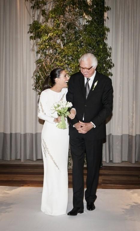 AMANDICA INDICA... e dá dicas!!!: Vestido do Dia: Stephanie (noiva Marriages Assessoria) | Marriages | Scoop.it
