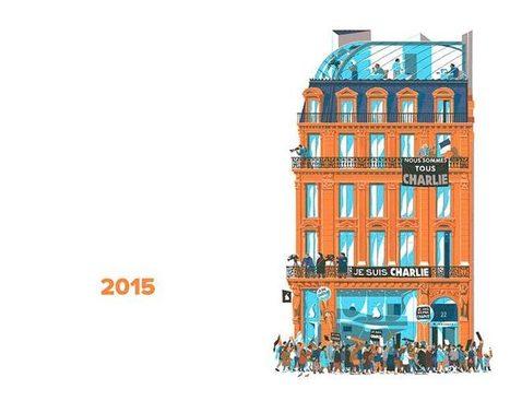 750 Years in Paris – Un illustrateur raconte l'histoire de Paris à travers l'architecture | Froggie pages | Scoop.it
