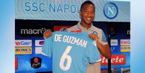 Napoli, Foto Presentazione De Guzman | news e sport | Scoop.it