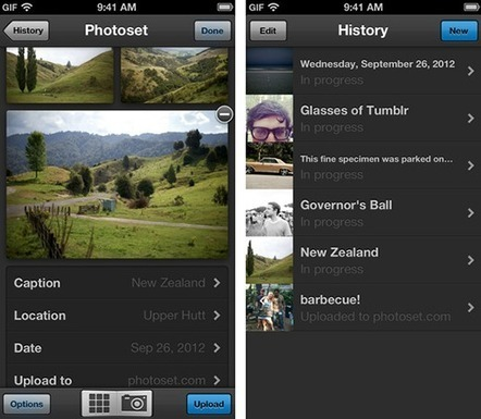 Tumblr launches Photoset: An iOS-only photo sharing app   Content Marketing & Content Curation Tools For Brands   Scoop.it