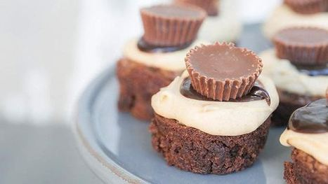 Mini Peanut Butter Cheesecake BrowniesFor my next OPEN HOUSE! | VISUAL PROSPERITY by Cynthia Bluenscottish Ross | Scoop.it