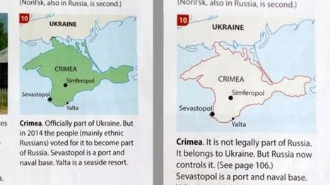 Geography textbook changed after Crimea row | Geography Education | Scoop.it