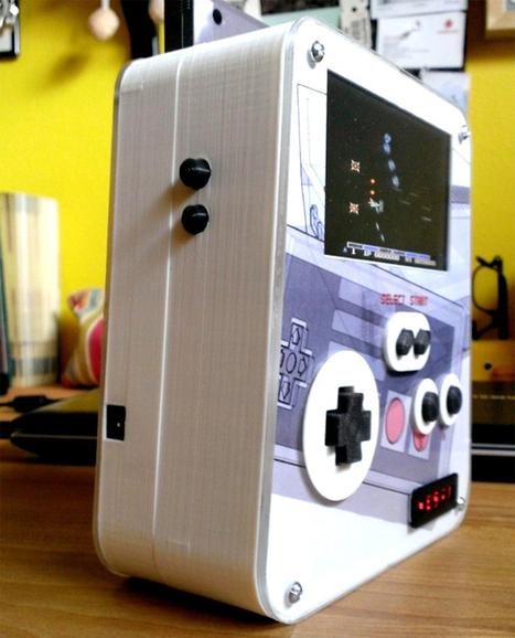 Building a portable NES using 3D printer   3D Printer News & 3D Printing News   Google SketchUp   Scoop.it