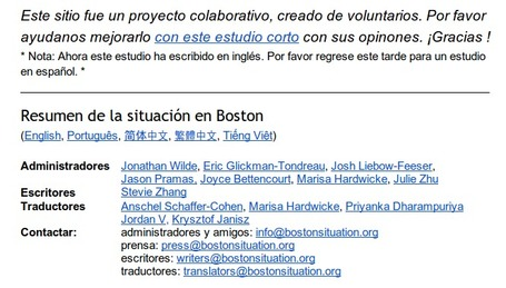 Periodistas 21: Lecciones de Boston | No son lo que dicen | Scoop.it
