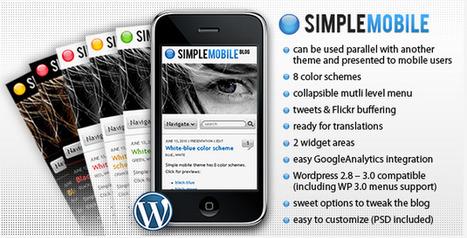 5 Template Mobile per il Tuo Sito Web o Blog in Wordpress | Temi per Wordpress | Scoop.it
