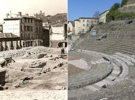 [AVANT/APRES] Un mur pour le fond de scène du Théâtre antique ? | les actualités des Langues et Cultures de l'Antiquité | Scoop.it