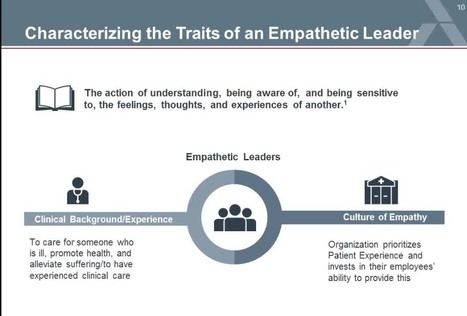 (Empathy in Healthcare) Foster a Culture of Empathy to Improve Patient Experience | Empathy and HealthCare | Scoop.it