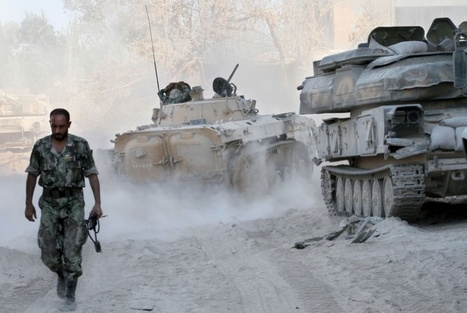 Les petits soldats de la guerre médiatique montent au front syrien | Desinformation Impérialisme Otan | Scoop.it