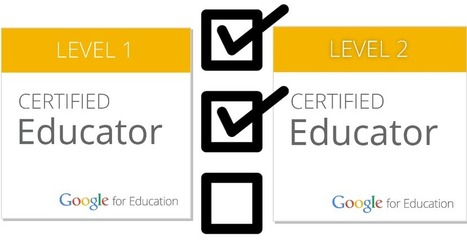 Control Alt Achieve: Skill Checklists for Google Certified Educator Level 1 and 2 | New learning | Scoop.it
