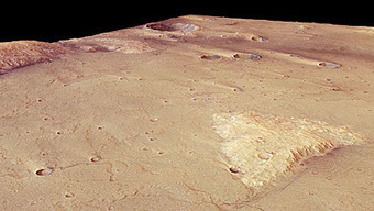 ESA - Mars Express - Mars Express reveals wind-blown deposits on Mars   Library of Science and Technology   Scoop.it