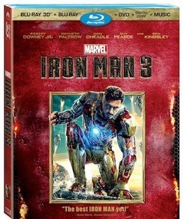 DVD Shopping Bag: Iron Man 3 Blu-ray - Mania | Action Figures Toy Gifts For Christmas | Scoop.it