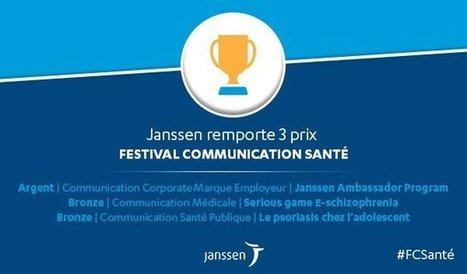 Serious Factory reçoit le Prix de Bronze pour le Serious Game e-Schizophrenia au Festival de la Communication Santé avec Janssen | Festival de la Communication Santé | Scoop.it