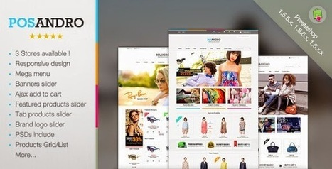 Andro - Multipurpose Responsive Prestashop Theme - Download New Themes | r | Scoop.it