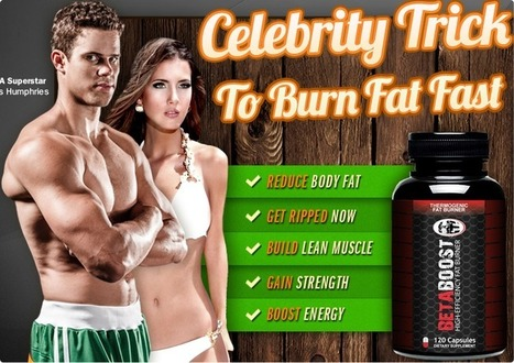 Beta Boost Fat Burner Review – Burn Calories And Build Lean Muscle Mass! | Burn Fat To Become A Muscular One | Scoop.it