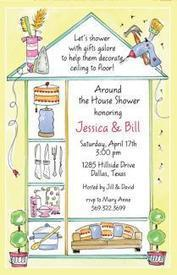 BUY AROUND THE HOUSE INVITATION CARDS ONLINE | Shop for Home | Scoop.it