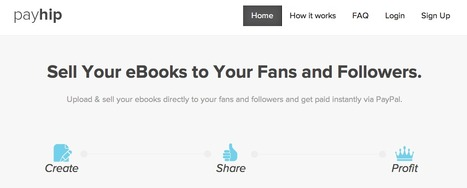 Payhip: E-boek verkoop service heeft nu Google Analytics, tweets en likes voor kortingen en watermerk, maar is niet meer gratis | BlokBoek e-zine | Scoop.it