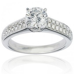 White Gold Engagement Rings - Classy & Beautiful | Engagement Rings | Scoop.it