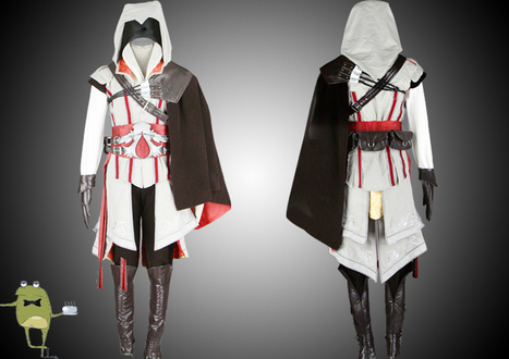 Assassin's Creed 2 Ezio Cosplay Costume for Sale | Anime Cosplay Costumes | Scoop.it
