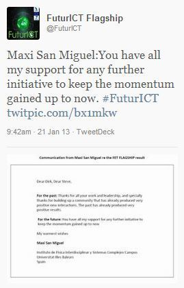 Maxi San Miguel: On FuturICT | FuturICT In the News | Scoop.it