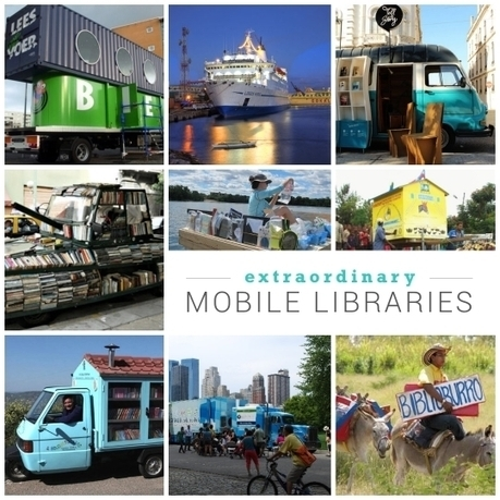 10 most extraordinary mobile libraries | The Information Professional | Scoop.it