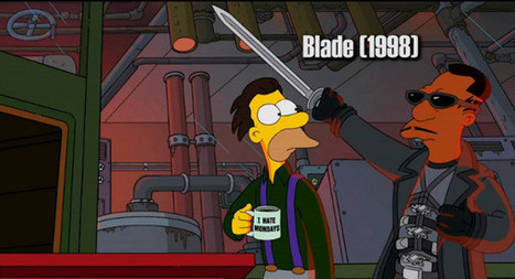 Every film reference in Guillermo del Toro's Simpsons opening | MOVIES VIDEOS & PICS | Scoop.it