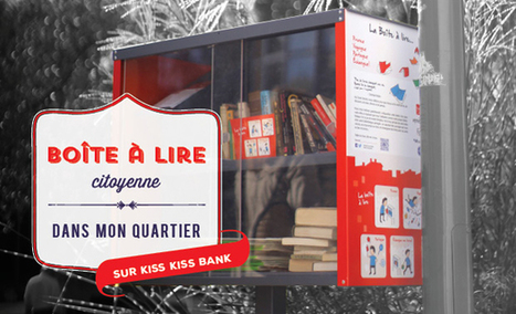 Des boîtes à lire citoyennes | Veille professionnelle des Bibliothèques-Médiathèques de Metz | Scoop.it