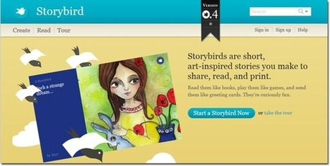 Storybird - Digital Storytelling - Teach Amazing! | RED.ED.TIC | Scoop.it