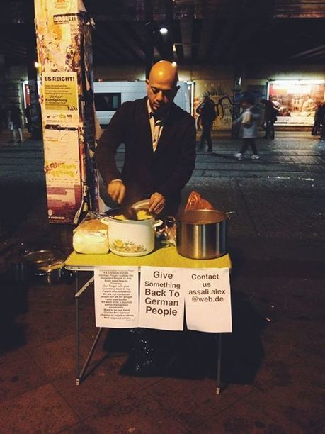 Syrian Refugee Gives Thanks to Welcoming Germans by Feeding Berlin's Homeless | Economie Responsable et Consommation Collaborative | Scoop.it