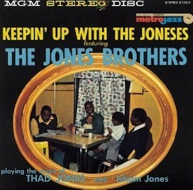 Jazz Flashes: Keepin' Up with the Jones Brothers, 1958 | Jazz Plus | Scoop.it