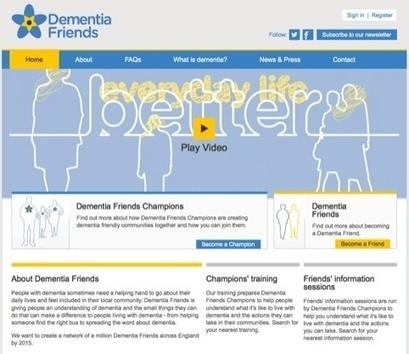 Addison creates Dementia Friends brand | News | Design Week | Graphic Arts & Design Today | Scoop.it