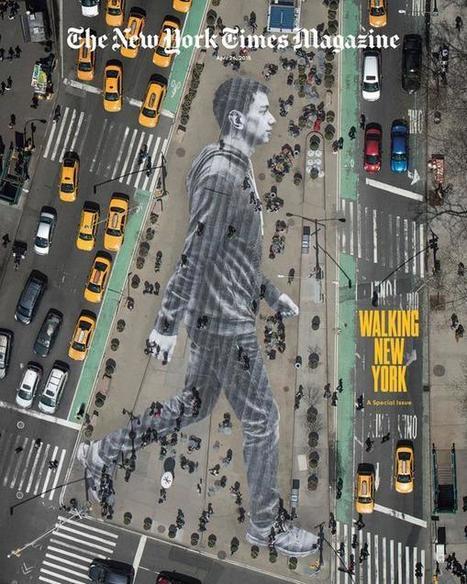 JR marche avec le New-York Times : Une nouvelle oeuvre gigantesque du célèbre street-artiste | Lumières de la Ville | Innovations urbaines | Scoop.it