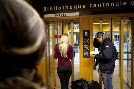 Lausanne: Ruée d'étudiants à la bibliothèque - 24heures.ch | Academic libraries - bibliothèques académiques | Scoop.it