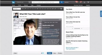 Interested in publishing content on LinkedIn? (Video)   Business in a Social Media World   Scoop.it