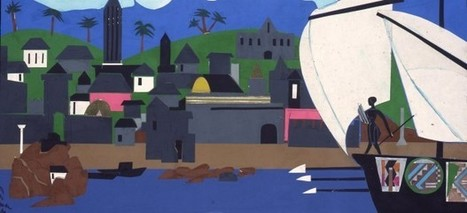 Romare Bearden, el artista que equiparó la Odisea de Homero con la esclavitud africana - 20minutos.es | literatura griega | Scoop.it