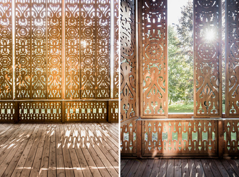 private residence by alexander diem features patterned timber façade - designboom | architecture & design magazine | 建築 | Scoop.it
