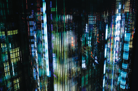 Tokyo Layers: 7 Vertical Cityscapes at Night | Communication design | Scoop.it
