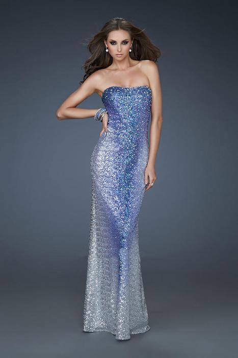 Royal Blue Sequin Fitted Strapless Long Prom Dresses by LF 17915 [LF 17915] - $180.00 : La Femme Outlet, 60% Off La Femme Sale Online | gownprincess | Scoop.it