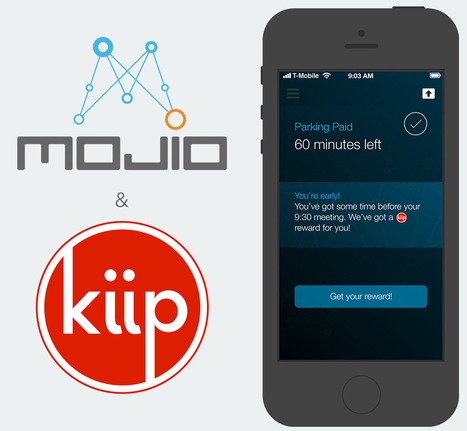 Mojio Partners with Kiip to Reward Everyday Driving Moments in Connected Cars | Connected Cars | Scoop.it