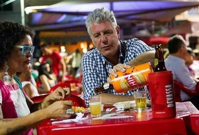 Anthony Bourdain's 12 Greatest Quotes About Drinking | Urban eating | Scoop.it