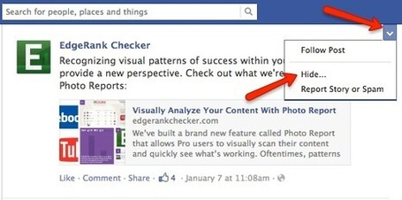 Facebook EdgeRank Tell-All | Facebook best practices and research | Scoop.it