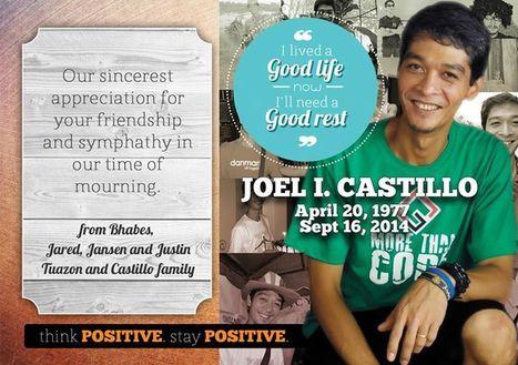 Joel I. Castillo's Ultimate Battle | Help Save a Cancer Patient | Scoop.it