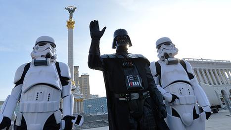 Darth Vader wants to run for Ukrainian presidency (VIDEO) | Vorager | Scoop.it