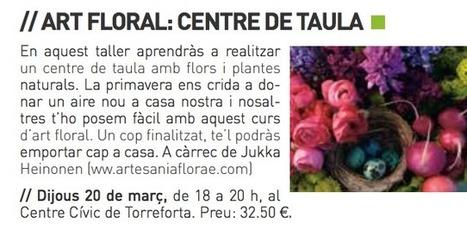 Taller Art Floral en Tarragona – Taller de Arte Floral en Tarragona « Artesaniaflorae | artesaniaflorae | Scoop.it